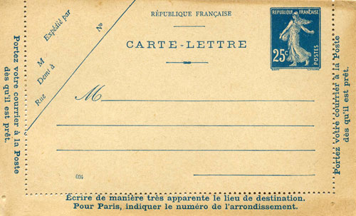 Carte lettre IV (034)