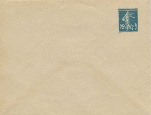 Enveloppe IV normal