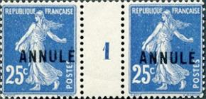 Surcharge Annulé 1911