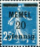memel 20 pf