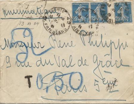 pneu 75 c 1924