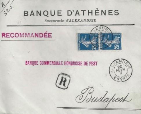 LRE Alexandrie 1911