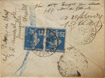 LRE Sud exprès Brésil 1910 V°