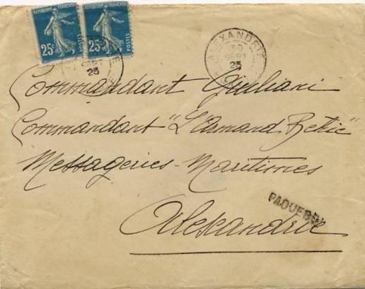 LSE Alexandrie 1923 50c