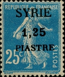 syrie 1,25p