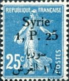 Syrie 1,25pi bilingue