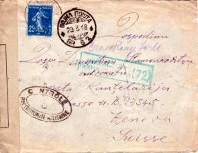 SP 504 Postes serbes