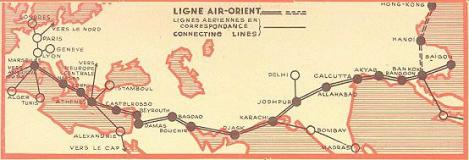 lignes aériennes air orient