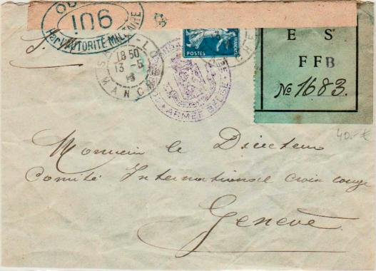 Croix Rouge esffb (étiquette verte)